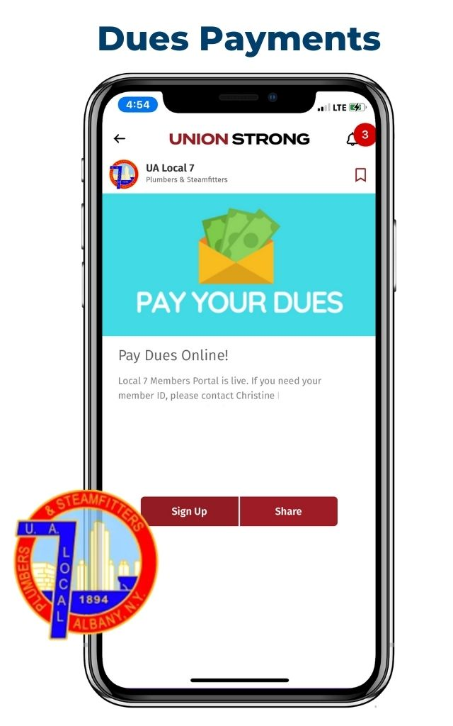 Dues Payments