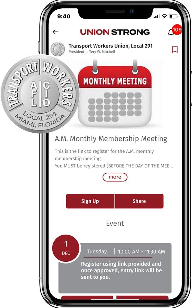 Events Meetings