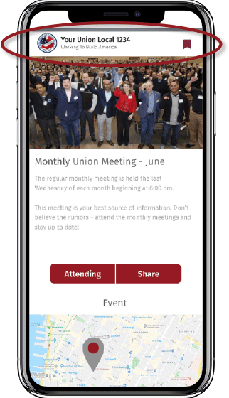 See what your union looks like on Union Strong!